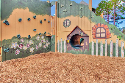 Hobbit House Mural