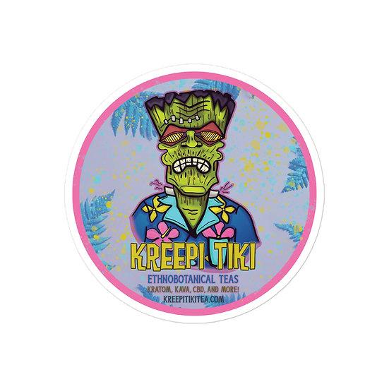 Retro Frankie Bubble-free stickers