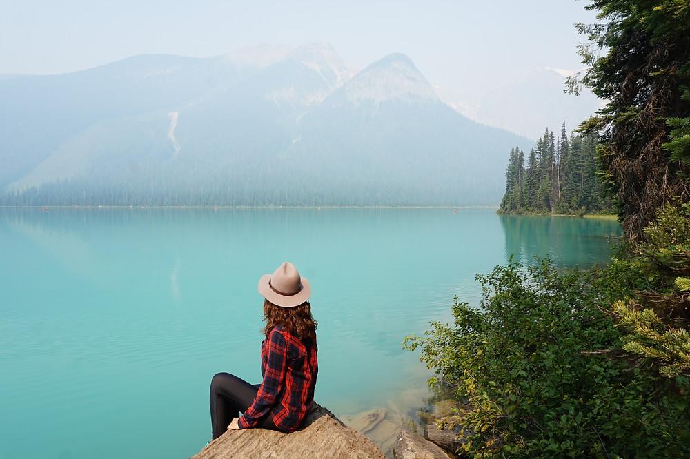 recorrido por emerald lake
