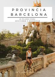 Provincia de BARCELONA - Que ver y Que hacer