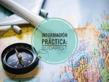 Información práctica - BUDAPEST