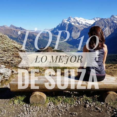 TOP 10 .- LO MEJOR DE SUIZA