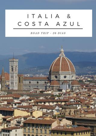 Italia & Costa Azul  - Road trip en 20 días