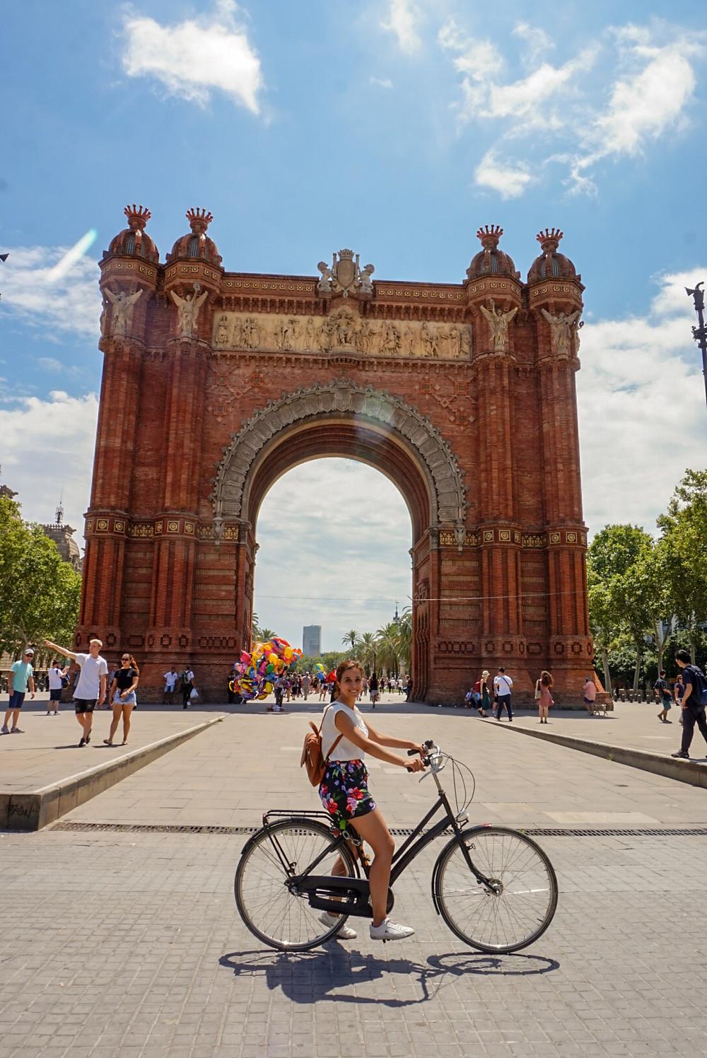 ruta bicicleta barcelona - parc ciutadella