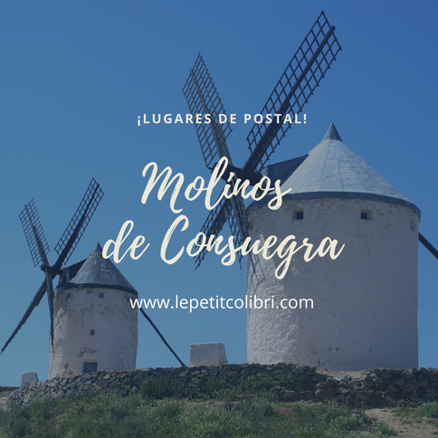 Lugares de postal: MOLINOS DE CONSUEGRA