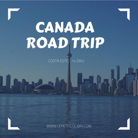CANADA – Road trip 14 DIAS – costa Este