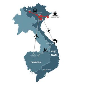 viaje a vietnam itinerario