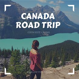 CANADA ROAD TRIP - COSTA OSTE 14 DIAS