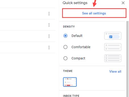 Create a Gmail signature