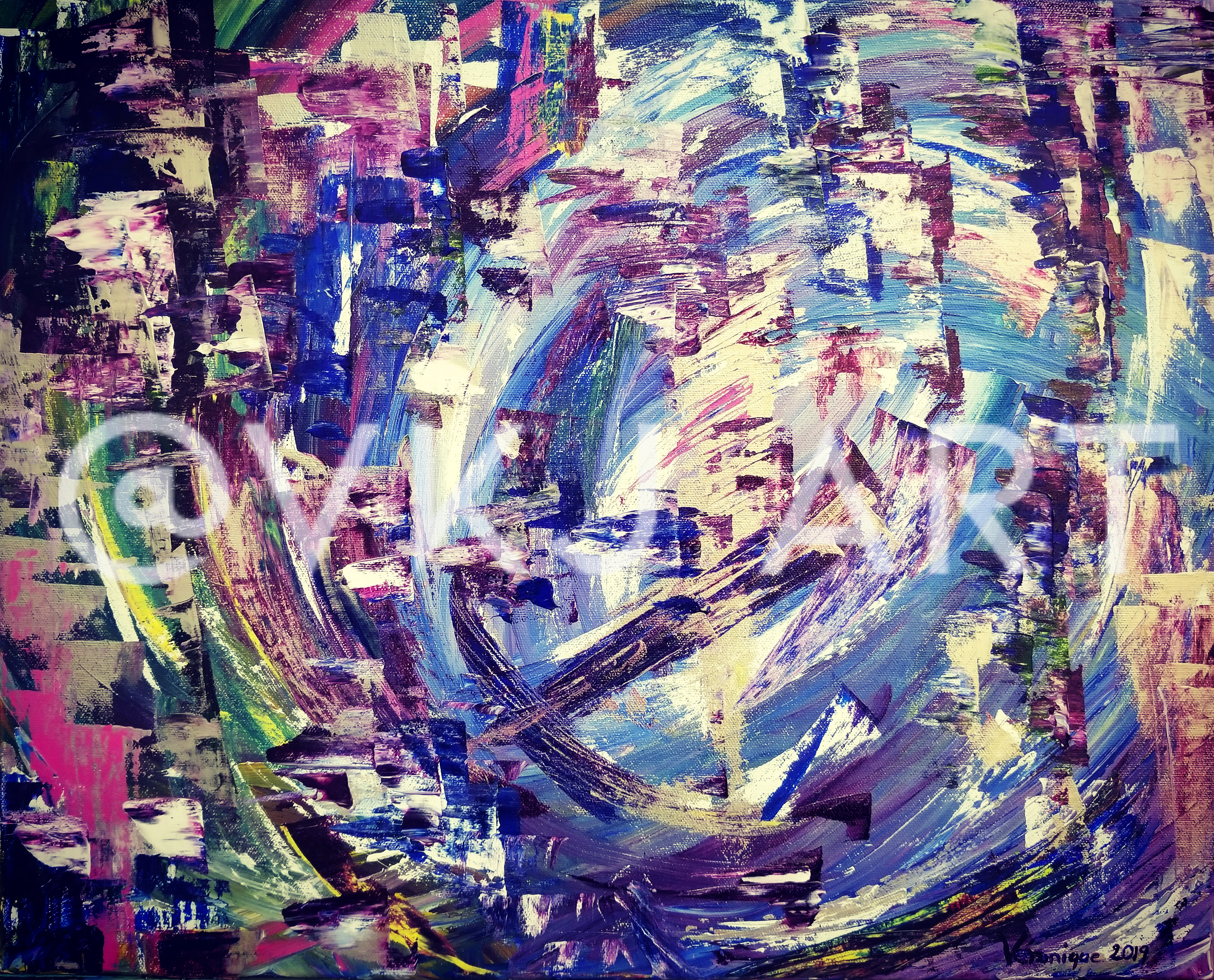 The Cave | 2019 | 51cm x 41 cm