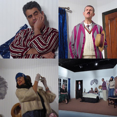 Highams Players production of a comedy double bill of Ways and Means by Noel Coward and Alternative Accommodation by Pam Valentine