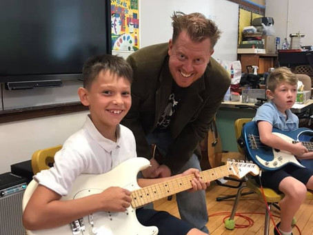 Cincinnati School of Rock Joins Holy Trinity
