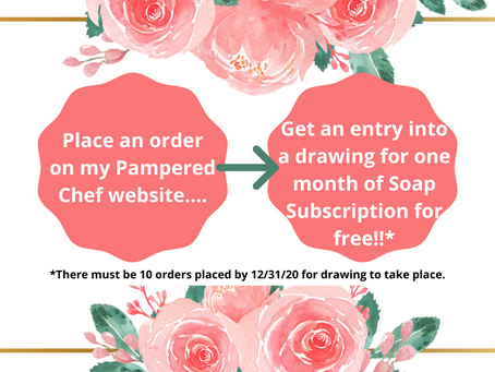Drawing for One Free Month - Soap Subscription!!