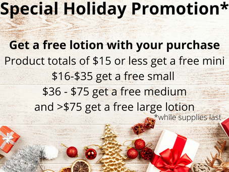 Holiday Promotion