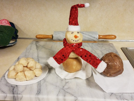Soap Snowman Raffle