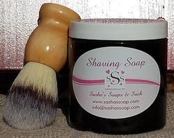 ShavingSoap&Brush