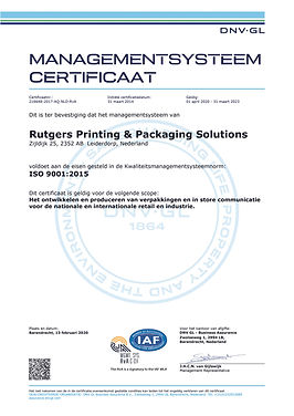9001_Rutgers Printing & Packaging Soluti