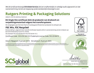 FSC_Rutgers Printing & Packaging Solutio