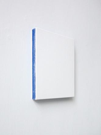 Sans-titre, 2013, acrylique sur toile, 25,5 x 20,5 cm