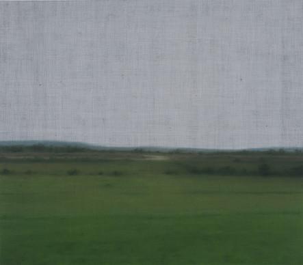 Sans-titre, 2015, huile sur toile, 107 x 122 cm