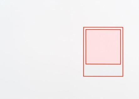 Prototype (rouge nº 1), 2018, acrylique sur toile, 152 x 213 cm