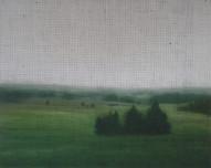 15h15, 2012, huile sur toile, 122 x 153 cm (Collection privée)