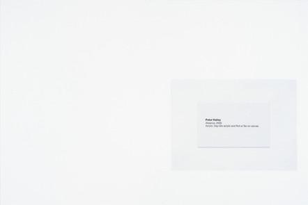 Absence, 2016, acrylique et encre sur papier, 30.5 x 45.5 cm