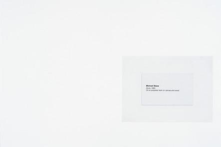 Gone, 2016, acrylique et encre sur papier, 30.5 x 45.5 cm (Collection privée)