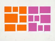1-7/1-8, 2002, acrylique sur papier, 56 x 76 cm (Collection privée)
