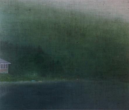 Disparition, 2011, huile sur toile, 168 x 198 cm (Collection Claridge, Montréal)