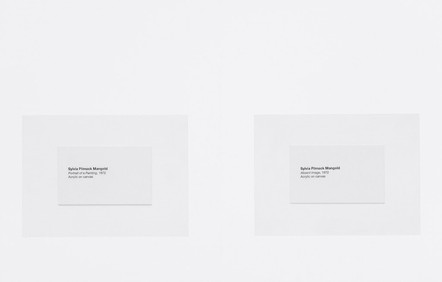 Catalogue nº 11 (Exhibition), 2014-16 (détail)