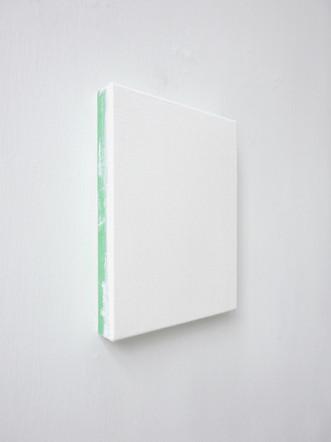 Sans-titre, 2013, acrylique sur toile, 20,5 x 15,5 cm (collection privée)