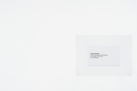 Cette chose est faite pour perpétuer mon souvenir, 2016, acrylique et encre sur papier, 30.5 x 45.5 cm
