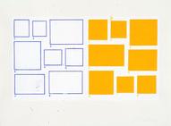 1-8/1-8, 2002, acrylique sur papier, 56 x 76 cm (Collection privée)