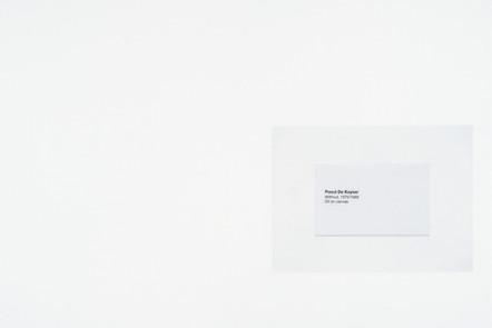 Without, 2016, acrylique et encre sur papier, 30.5 x 45.5 cm