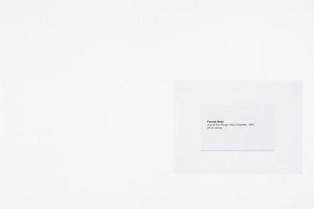 And All The Things I Have Forgotten, 2016, acrylique et encre sur papier, 30.5 x 45.5 cm