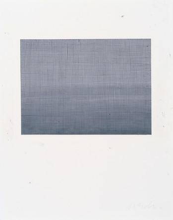 Sans-titre, 2011, pastel à l'huile et huile sur papier, 71 x 56 cm