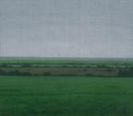 Sans-titre, 2015, huile sur toile, 107 x 122 cm (Collection privée)