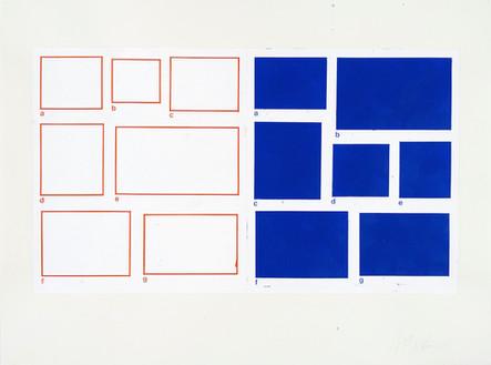 a-g/a-g, 2003, acrylique sur papier, 56 x 76 cm