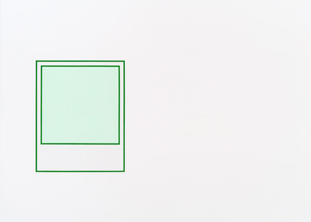 Prototype (vert nº 1), 2018, acrylique sur toile, 152 x 213 cm