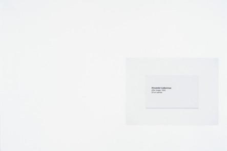 After Image, 2016, acrylique et encre sur papier, 30.5 x 45.5 cm