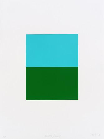 Palermo/Kelly, 2005, acrylique sur papier, 40,5 x 30,5 cm, édition de 15