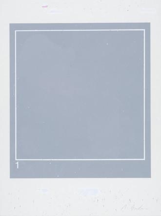 1, 2001, acrylique sur papier, 51 x 38 cm