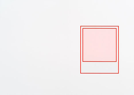 Prototype (rouge 1), 2018, acrylique sur