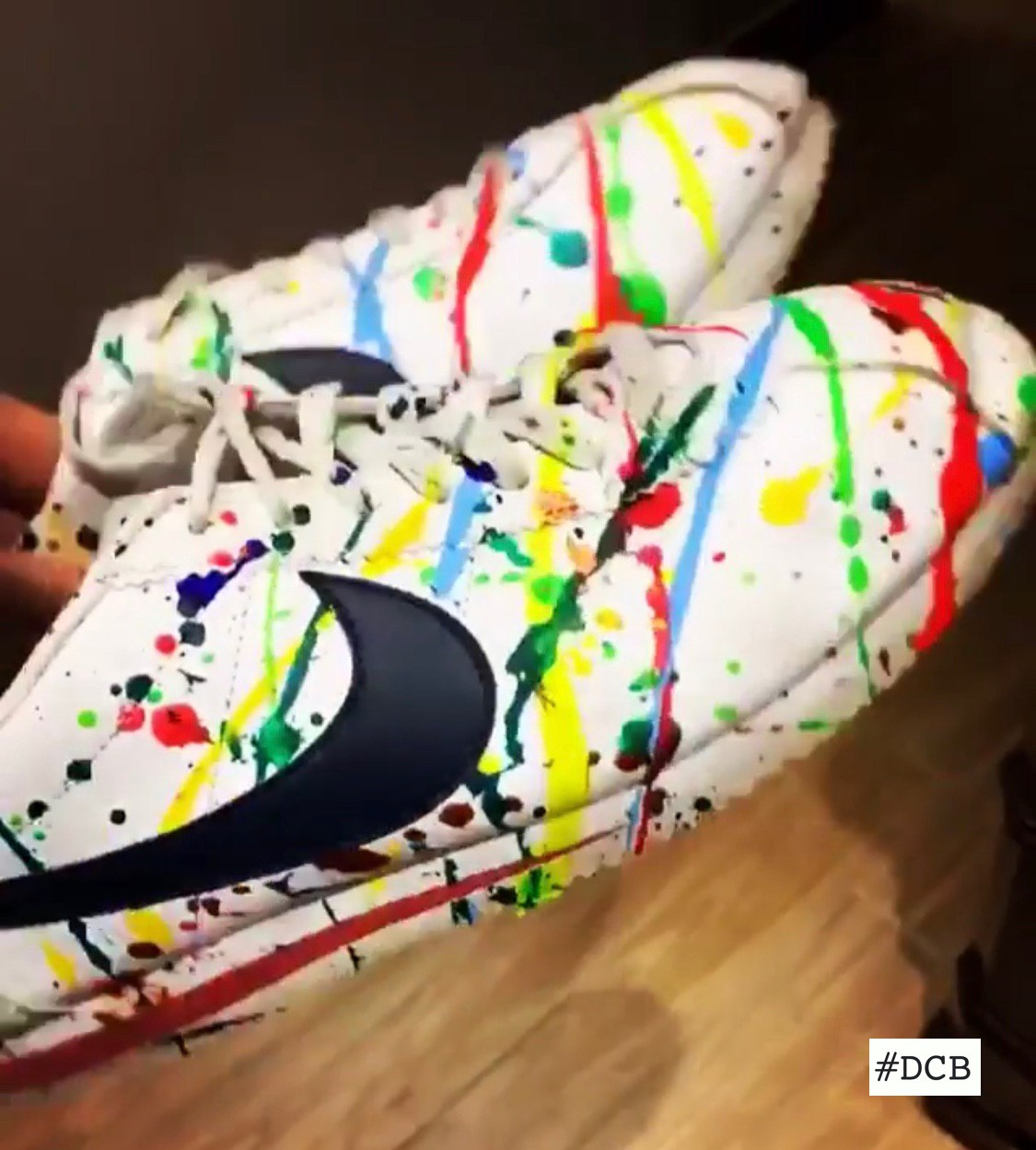 Colored Nike