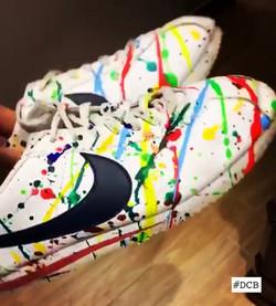 Colored Nike