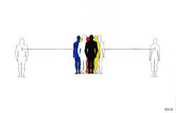 Between Us (la concezione dello spazio)
