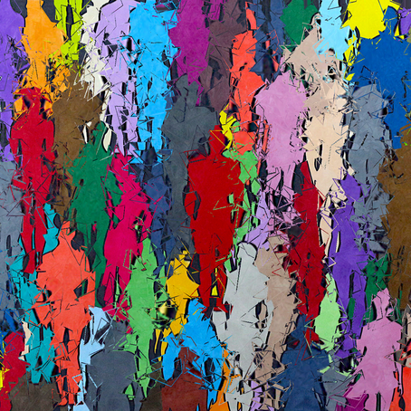 Colored Crowd Aberration 💥