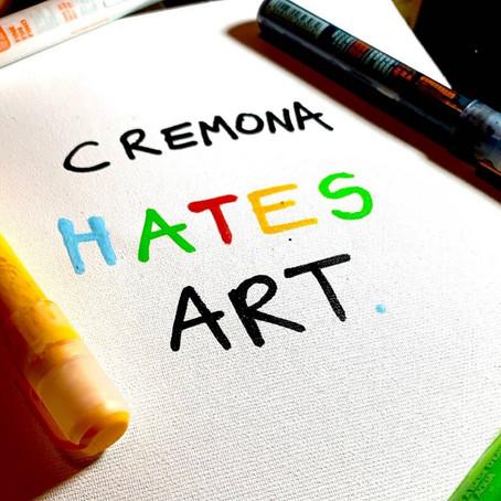 """""""Cremona hates Art""""🎻"""