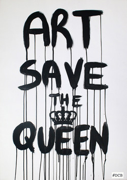 Art save the Queen